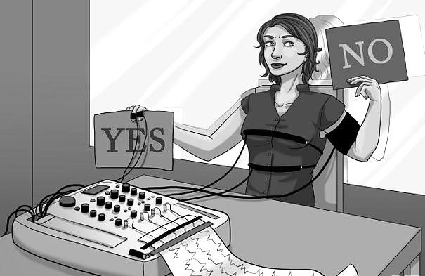 Применение полиграфа при приеме на работу